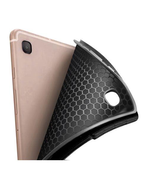 AZERTY Bluetooth Keyboard Bookcase Samsung Galaxy Tab A7 - Zwart / Black