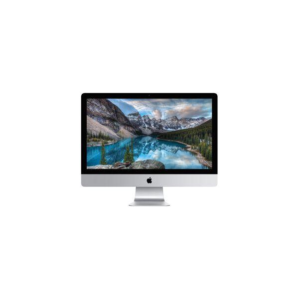 iMac 27-inch Core i7 4.0 GHz 256 GB HDD 16 GB RAM Zilver Argent (5K, Fin 2015)