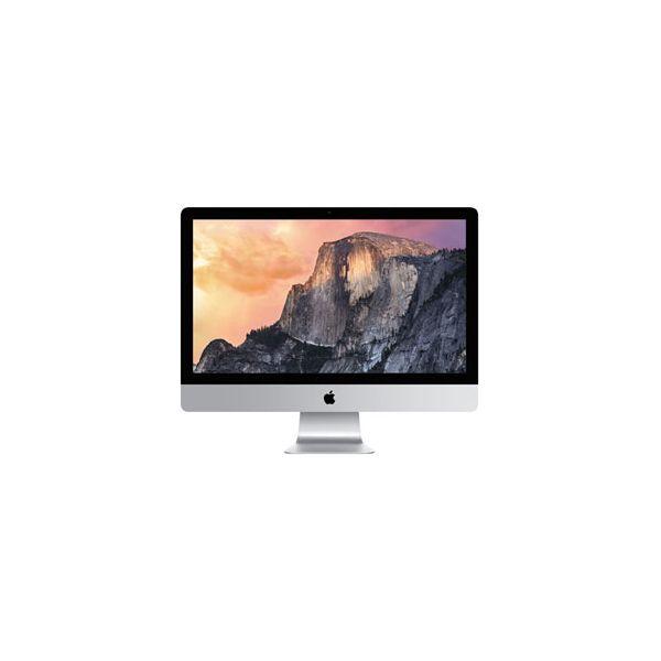 iMac 27-inch Core i5 3.5 GHz 1 TB HDD 8 GB RAM Argent (5K, Fin 2014)