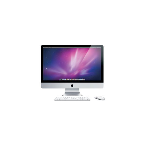 iMac 27-inch Core i7 2.93 GHz 256 GB HDD 8 GB RAM Argent (Mi-2010)