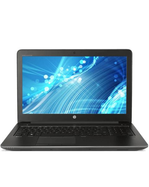 HP ZBook 15 G3   15.6 inch FHD   6e generatie i7   500GB HDD   16GB RAM   NVIDIA Quadro M1000M   QWERTY/AZERTY/QWERTZ