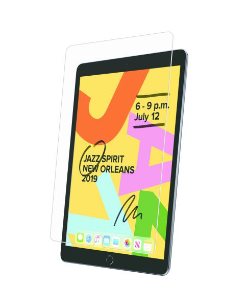 Premium Glass Screenprotector iPad 10.2 (2019 / 2020) - Zwart