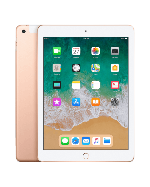 iPad 2018 32GB WiFi +4G doré reconditionné