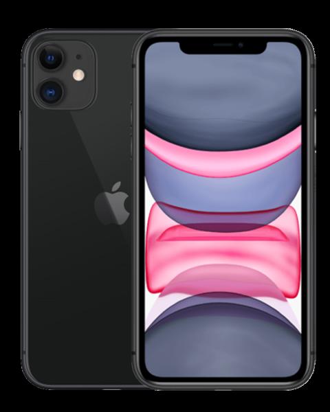 Refurbished iPhone 11 64GB zwart