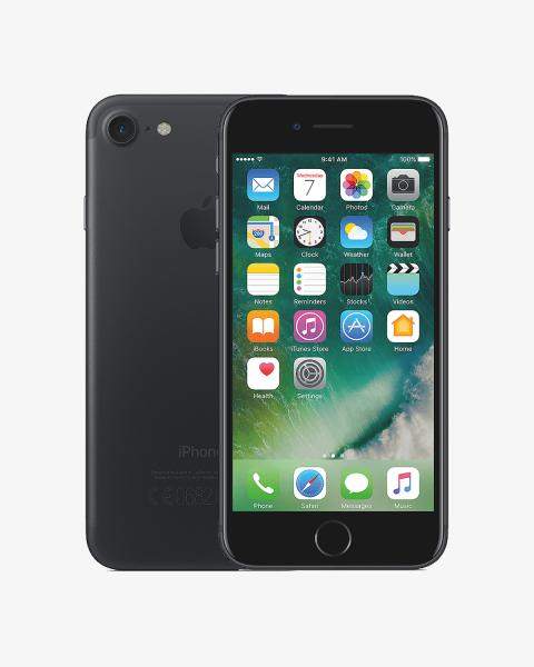 iPhone 7 128GB noir mat reconditionné