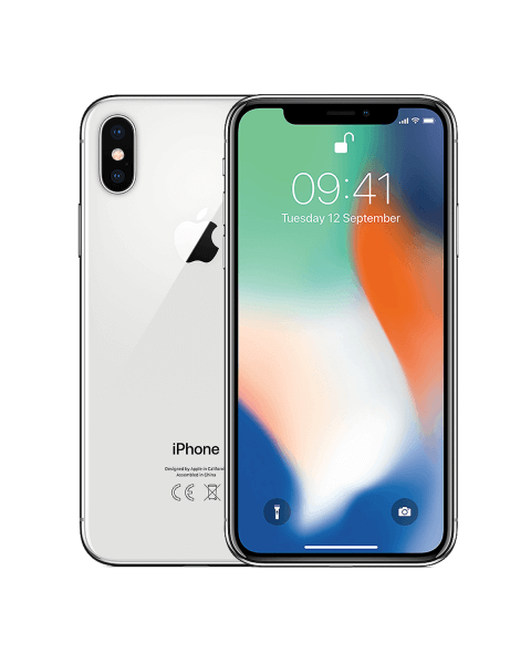iPhone X 64GB argenté reconditionné