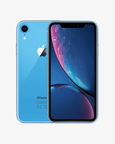 Refurbished iPhone XR 64GB bleu