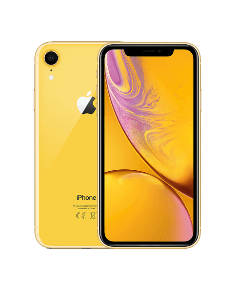 Refurbished iPhone XR 64GB jaune
