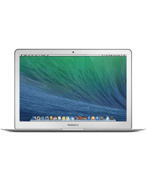 MacBook Air 13-inch Core i5 1.4 GHz 128 GB SSD 4 GB RAM Zilver QWERTY (Early 2014)
