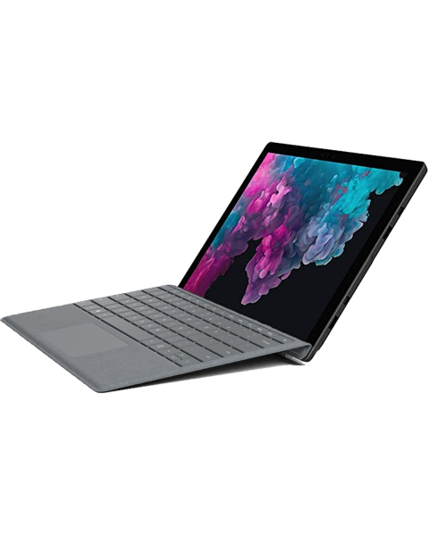 Refurbished Microsoft Surface Pro 5   12.3 inch   7e generatie i5   128GB SSD   4GB RAM   Grise QWERTY keyboard   Sans Pen