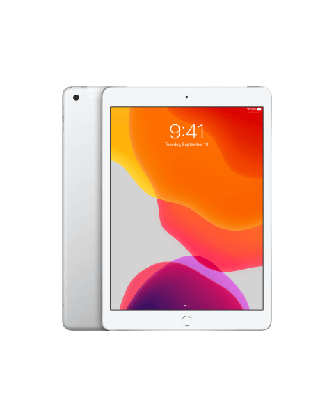 Refurbished iPad 2019 32GB WiFi zilver