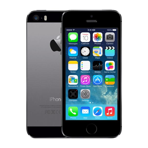 iPhone 5S 32GB reconditionné noir/gris espace