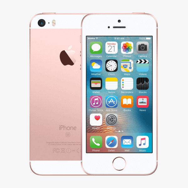 Refurbished iPhone SE 128GB rose doré