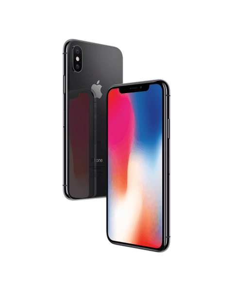 Refurbished iPhone X 256GB gris espace