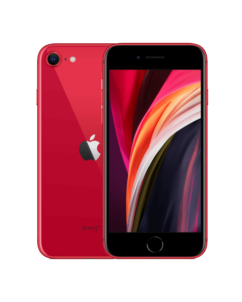 Refurbished iPhone SE 64GB rood (2020)
