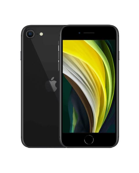 Refurbished iPhone SE 64GB zwart (2020)